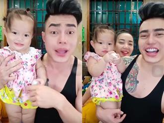 Lê Dương Bảo Lâm khiến fan thích thú khi bất ngờ khoe cận mặt vợ và con gái