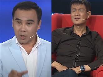 """Lê Hoàng bị """"đơ"""" trước câu hỏi của MC Quyền Linh"""