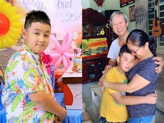 Lê Phương chính thức đưa con trai lên sống cùng, xúc động giây phút Cà Pháo rưng rưng tạm biệt ông bà