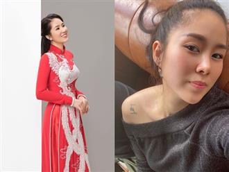 Lê Phương khoe nhan sắc trẻ đẹp như gái 20, làm thơ mừng ngày tái xuất sau 2 năm nghỉ đẻ