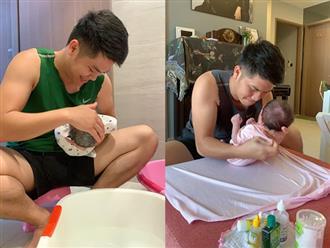 Lê Phương phát hờn vì chồng cưng con gái như trứng mỏng, fan thốt lên: 'Người cha tuyệt vời'