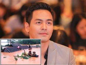 Liên tục bị 'gọi tên' giữa lúc miền Trung bão lũ, MC Phan Anh có động thái gây chú ý