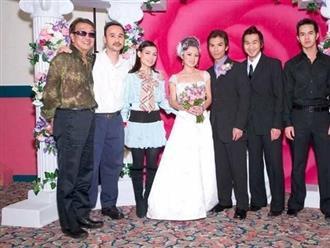 Phi Nhung hé lộ ảnh hiếm trong đám cưới 16 năm trước của ca sĩ Mạnh Quỳnh