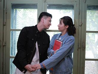 Lo bạn gái Huỳnh Anh ghen, Lưu Đê Ly tìm cách tránh đụng chạm thân mật với bạn diễn