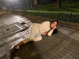 """Lộ cảnh Hương... nằm giữa đường lúc nửa đêm trong kết phim """"Gạo nếp gạo tẻ""""?"""
