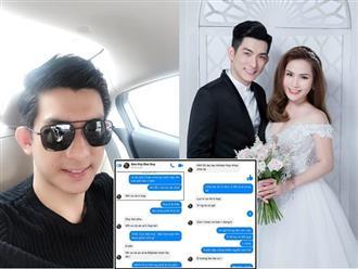 Lộ tin nhắn chồng cũ Phi Thanh Vân đã ly hôn, vừa bỏ vợ 3 đã hứa hẹn cùng người phụ nữ khác và sự thật bất ngờ