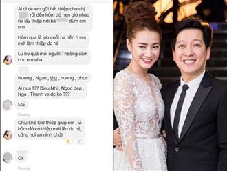 Lộ tin nhắn Nhã Phương đã dừng nhận show, nhóm bạn thân phải có thiệp mới được vào tiệc cưới