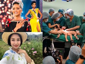 Sao Việt đồng loạt gửi lời xúc động đến ekip 100 y bác sĩ và 2 bé song sinh dính liền
