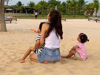 Louis Nguyễn khoe ảnh của Tăng Thanh Hà và 2 con, cư dân mạng phát hiện điểm chung đặc biệt của 3 mẹ con