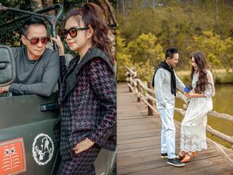Lý Hải - Minh Hà tung ảnh 'tình bể bình' bên nhau, tưng bừng kỷ niệm 10 năm ngày cưới