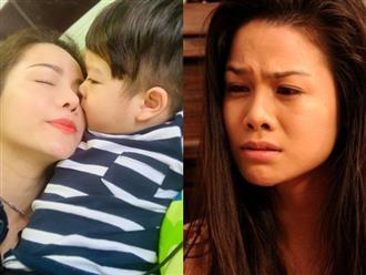 Mất quyền nuôi con lại bị chồng cũ gây khó dễ, Nhật Kim Anh nghẹn ngào: 'Tin có nhớ mẹ không'