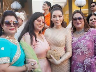 Lý Nhã Kỳ dự đám cưới dài 7 ngày của nữ tỷ phú Ấn Độ tại Phú Quốc