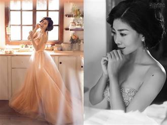 Diện váy cúp ngực, Mai Phương khoe vai trần gợi cảm, xinh đẹp ngút ngàn sau thời gian bạo bệnh