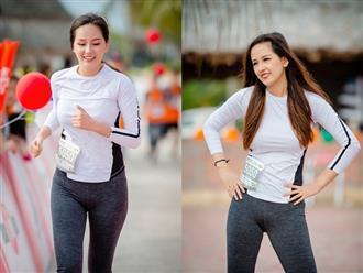 Mai Phương Thúy chạy marathon, khoe nhan sắc vạn phần rạng rỡ