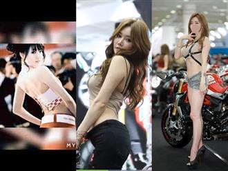 Vẻ quyến rũ của mỹ nữ bên siêu xe, body S-line chuẩn như siêu mẫu nhưng nhìn mặt 'xỉu lên xỉu xuống'