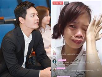 Mẹ đơn thân livestream bán hàng bị miệt thị 'nhà không có gương soi', MC Phan Anh đáp trả cực sâu cay