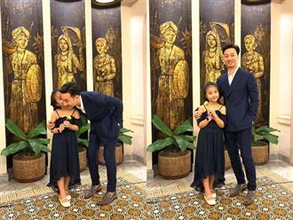 MC Thành Trung hạnh phúc khi nghe tâm sự của con gái về 2 em song sinh cùng cha khác mẹ