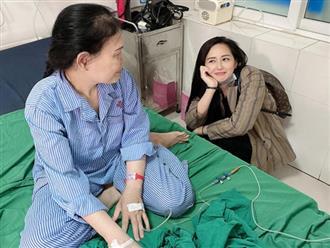 Mẹ Mai Phương Thuý bất ngờ nhập viện cấp cứu, Hoàng Thuỳ Linh và nhiều sao Việt gửi lời hỏi thăm