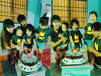 Minh Hà mừng sinh nhật tuổi 33 ấm áp bên ông xã Lý Hải và 4 nhóc tỳ đáng yêu