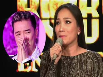 Mr Đàm bật khóc khi thấy Hồng Ngọc đi hát sau sự cố bỏng 2/3 mặt