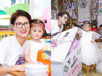 Mừng con gái tròn 3 tuổi, Trang Trần làm thơ cảm động và tiết lộ bí mật giấu kín nhiều năm