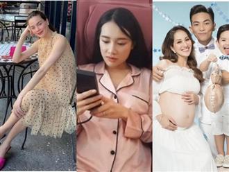 """Mỹ nhân Việt thay đổi tính cách khi mang thai: Hồ Ngọc Hà """"khó tính, dở hơi"""", Nhã Phương mắng chồng từ sáng đến tối"""