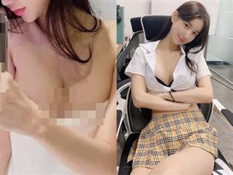 Hot girl nóng bỏng khiến dân mạng 'cháy mắt' khi hờ hững khoe vòng 1 cả mét
