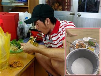 Con nấu cơm nhưng quên bấm nút, Hoài Linh 'dở khóc dở cười' khi đến giờ ăn