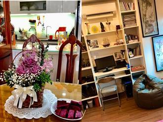 Ngắm căn hộ chung cư ngập tràn tình yêu thương từ bàn tay chăm chút của mẹ chồng tảo tần tại Quảng Ninh