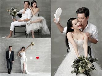 'Rụng tim' khi ngắm trọn bộ ảnh cưới đẹp như tranh vẽ của Trường Giang - Nhã Phương
