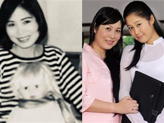Nghệ sĩ Hồng Vân khoe ảnh thanh xuân lúc 30 tuổi, kể chuyện xúc động về con gái đầu lòng