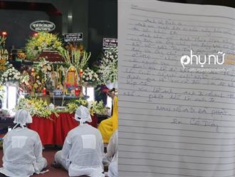 Những dòng tiễn biệt đầy nước mắt NS Kim Xuân, Trung Dân viết trong sổ tang NS Lê Bình