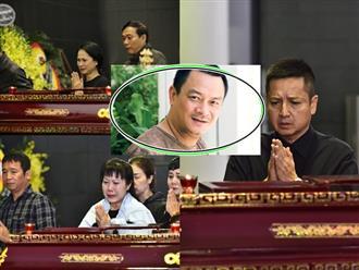 Nghệ sĩ Việt khóc nghẹn tại đám tang NSND Anh Tú: Xuân Bắc, Chí Trung lặng người trước linh cữu đồng nghiệp