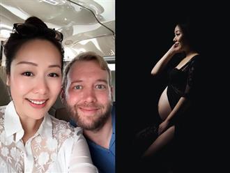 Sinh con sau nỗi đau sảy thai, tâm sự của Hoa hậu Ngô Phương Lan khiến nhiều chị em đồng cảm