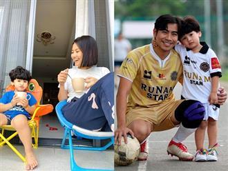 Hậu ly hôn, Ngọc Lan khoe cuộc sống bình yên bên con trai, bé Louis điển trai như 'soái ca' Hàn Quốc