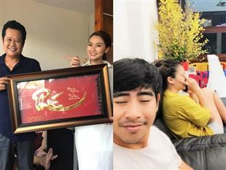 Ngọc Lan – Thanh Bình khoe quà tân gia bằng vàng của 'tía' Thanh Nam