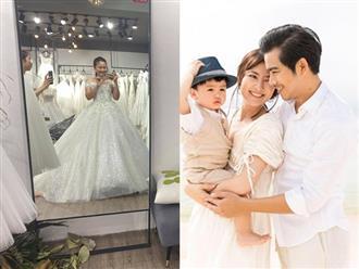 Ngọc Lan tươi cười đi thử váy cưới, thẳng thắn trả lời chuyện tái hôn sau gần 1 năm chia tay Thanh Bình