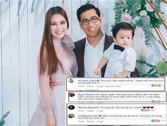 Sao Việt phản ứng khi Ngọc Lan và Thanh Bình ly hôn, bất ngờ nhất là lời nhắn của Kiều Trinh
