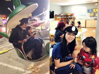 Ly hôn chồng Việt kiều, Ngọc Quyên nén đau làm tròn trách nhiệm của người mẹ