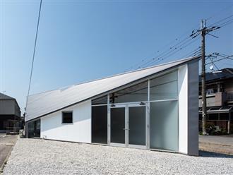 Ngôi nhà với bề ngang chỉ 2m nhưng gây thương nhớ với thiết kế siêu thông minh lấy cảm hứng từ hình dạng của viên kim cương ở Nhật