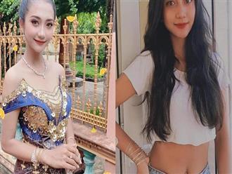 'Hoa mắt' bởi vẻ đẹp tựa nữ thần của nữ sinh 10X người Khmer, vóc dáng chuẩn không kém hoa hậu