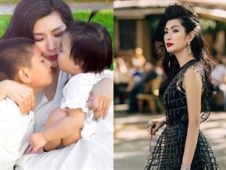 Vừa ly hôn chồng thứ 2, Nguyễn Hồng Nhung trút nỗi lòng với hai con gây xúc động mạnh