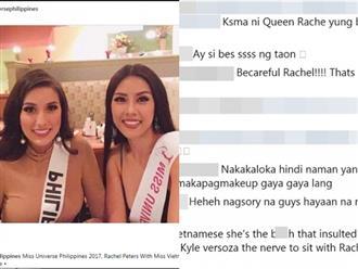 Nguyễn Thị Loan bị fans Philippines 'đeo bám nói xấu' tại Miss Universe 2017