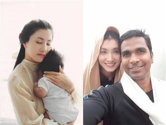 Khoe ảnh con trai lớn phổng phao, Nguyệt Ánh ước có con với chồng Ấn Độ sớm hơn