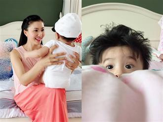 Sau 5 tháng sinh con với chồng Ấn Độ, Nguyệt Ánh hé lộ mặt em bé với đôi mắt tròn xoe, làn da trắng ngần