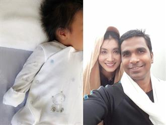 Lộ hình ảnh đầu tiên về con trai mới sinh của Nguyệt Ánh với chồng Ấn Độ: Quá đỗi bất ngờ vì điểm này
