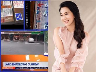 """Nhà hàng của MC Nguyễn Cao Kỳ Duyên lên truyền hình Mỹ vì bị đập phá nặng nề: """"Thôi thì của đi thay người"""""""