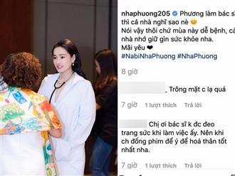 Nhã Phương đăng ảnh xinh đẹp trong áo blouse trắng, fan lập tức nhắc nhở