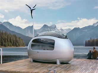 Nhà thông minh trông như quả trứng, chứa gì bên trong mà rộng 6 mét vuông lại có giá tới 56.000 USD?