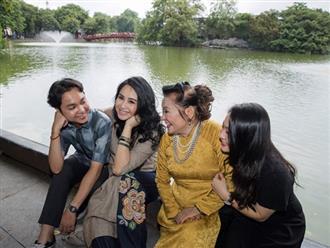 Nhan sắc của ba thế hệ trong gia đình Thanh Lam